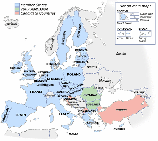 map of europe countries. map of europe countries and